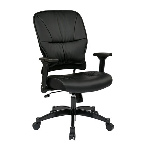 """Office Star Products Space 23.25"""" Eco Leather Managers Chair"""