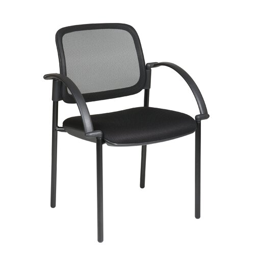 Office Star Products Screen Mesh Visitors Chair