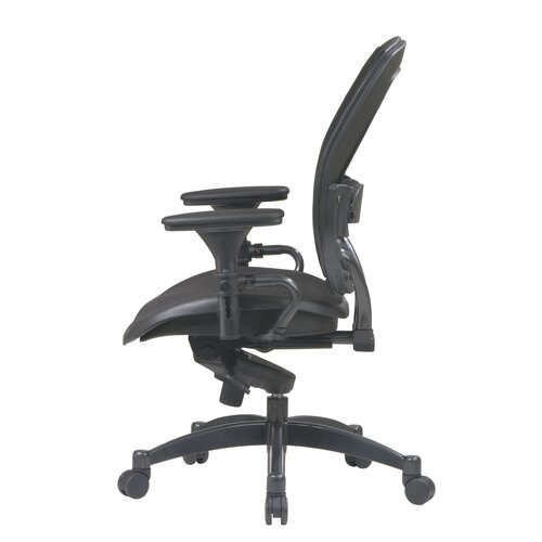 Office Star Products SPACE Matrex Mid-Back Office Chair with Arms