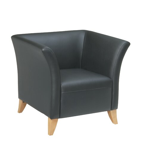 Office Star Products Leather Lounge Chair