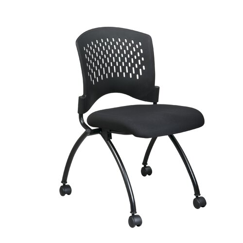 Office Star Products Office Star Proline II Mid-Back Deluxe Armless Folding Office Chair