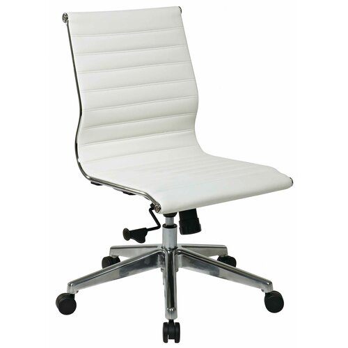 office star mid back eco leather office chair reviews