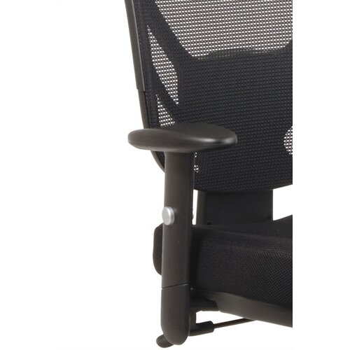Office Star Products Screen Mid-Back Office Chair with Arms