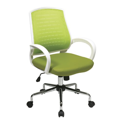Office Star Products Avenue Six Mid-Back Rio Mesh Task Chair
