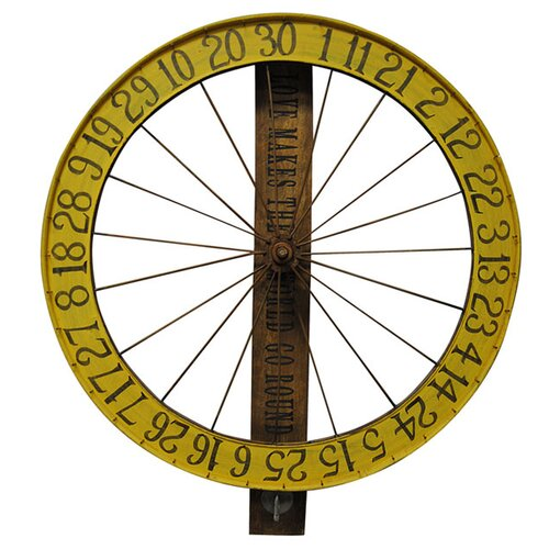 Sugarboo Designs Gaming Wheel Wall Décor