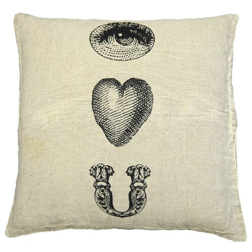 Sugarboo Designs Eye Heart You Pillow