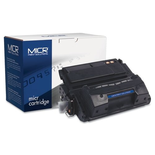 Micr Print Solutions 42XM Compatible High-Yield Micr Toner, 20000 Page-Yield