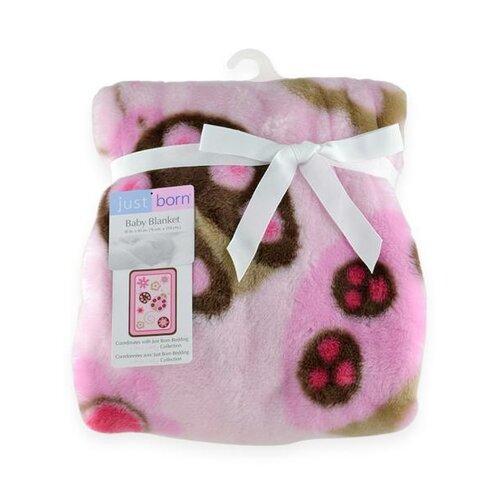 Just Born® Hi Pile Little Lady Blanket