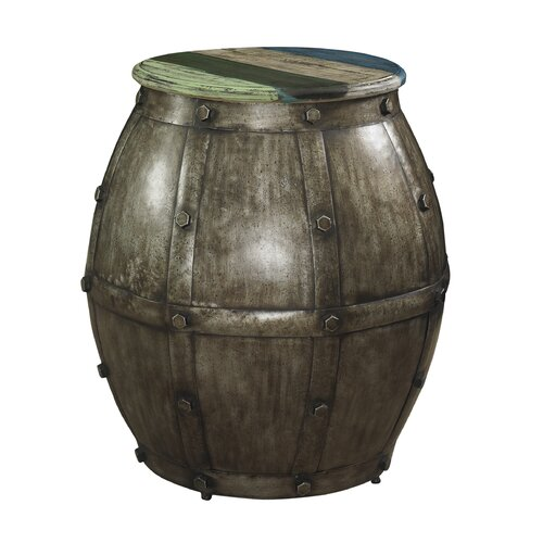 Calypso Barrel End Table