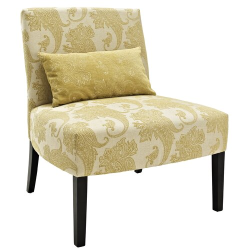 Paisley Lila Slipper Chair