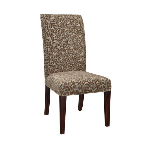 Powell Furniture Classic Seating Leaves Parson Chair Slipcover