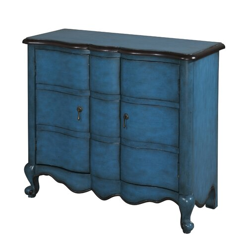 Powell Furniture Scalloped 2 Door Chest
