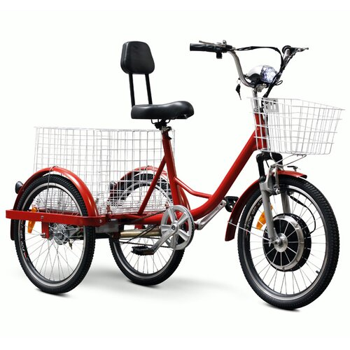 Electric Wheels LLC Electric Tricycle