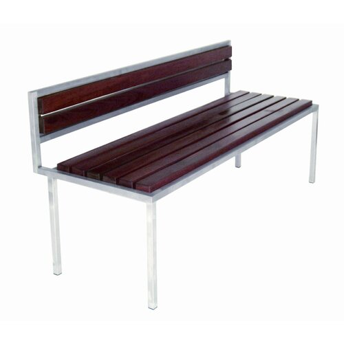 Modern Outdoor Talt Wood Garden Bench
