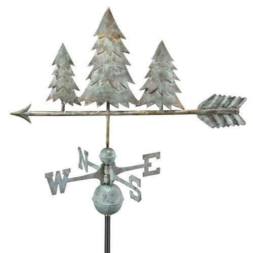 Good Directions Pine Trees Weathervane