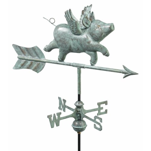 Good Directions Flying Pig Weathervane