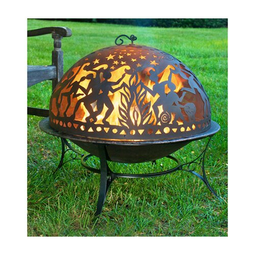 Good Directions Full Moon Party Dome Fire Pit Set
