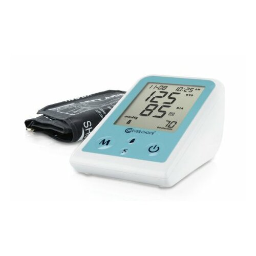 Clever Choice Fully Auto Digital Arm BP Monitor with EX-Large Cuff & 120 Memory