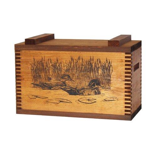 Standard Storage Box With Wood Ducks Print
