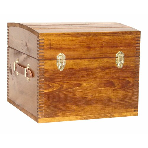 Evans Sports Deluxe Half Trunk with Leather Handles