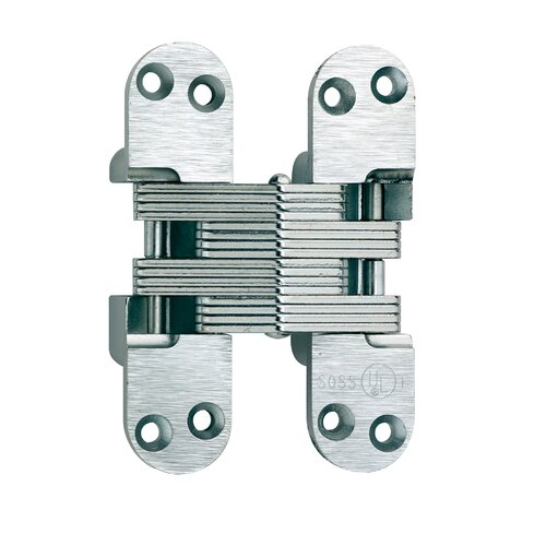 SOSS Invisible Fire Rated Hinges for Wood or Metal