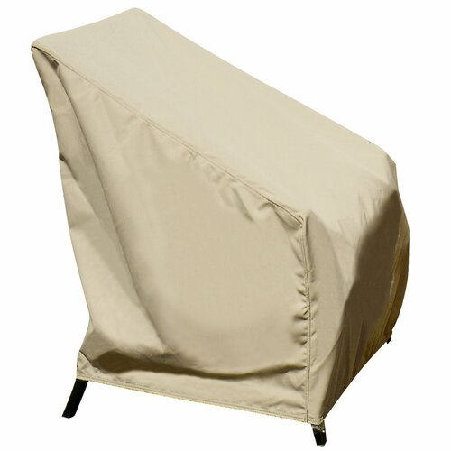 Swim Time High Back Chair Winter Cover in Beige