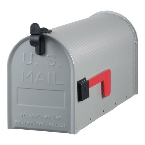 Solar Group Standard Gauge Galvanized Steel Mailbox