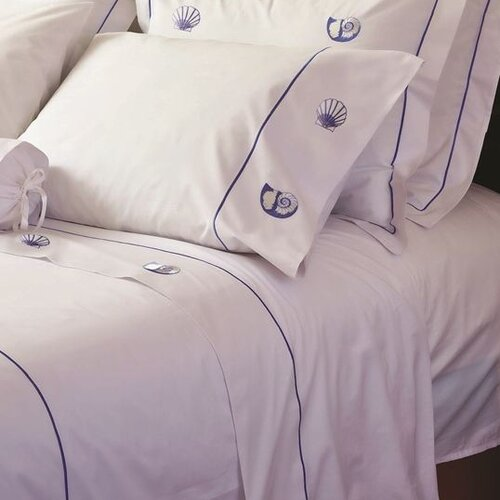 Jacaranda Living 200 Thread Count Scallop and Pearl Nautilus Sheet Set