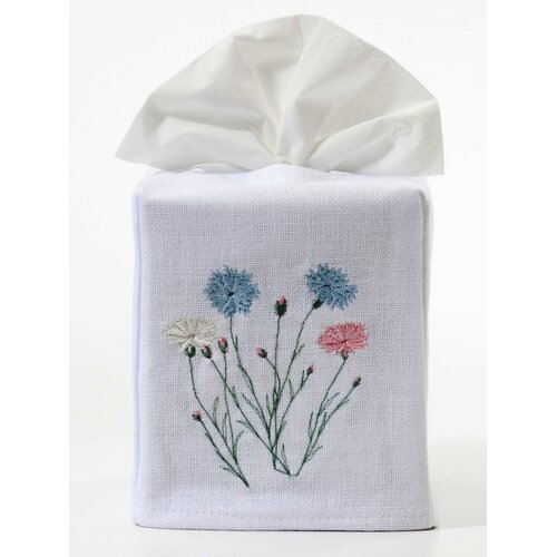 Jacaranda Living Wildflowers Tissue Box Cover