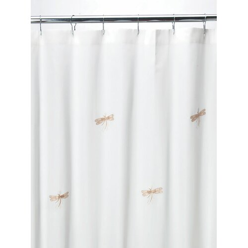 Jacaranda Living Dragonfly Classic Cotton Shower Curtain