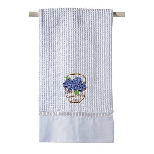 Jacaranda Living Hydrangea Basket Hand Towel