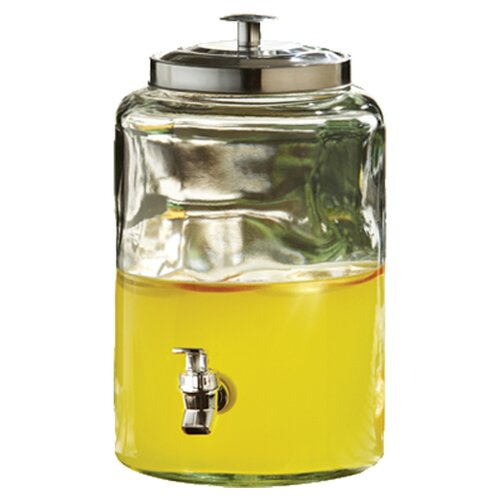 Style Setter Jacksonville Glass Beverage Dispenser