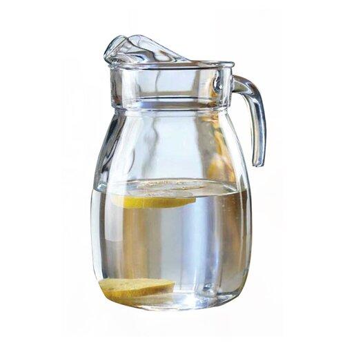 Style Setter Classic Everyday Basics Glass Pitcher