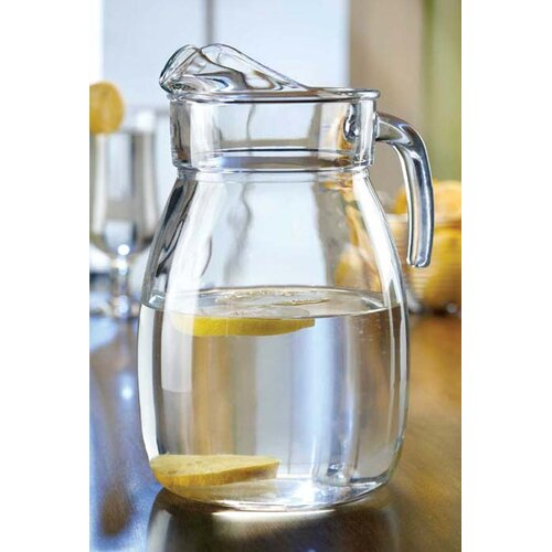 Style Setter Classic Everyday Basics Glass Pitcher
