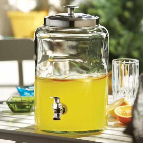 Jacksonville Glass Beverage Dispenser