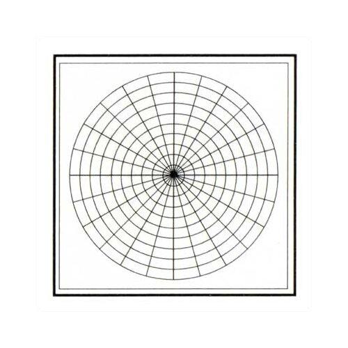 Marsh Graphics - Polar Coordinates 4' x 4' Whiteboard