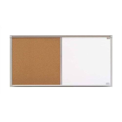 Marsh Cork & Remarkaboard Combinations - Bulletin Boards - Aluminum Frame