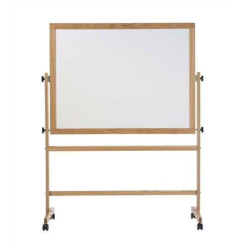 Marsh Remarkaboard Freestanding Reversible Whiteboard