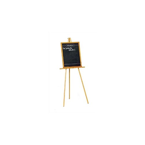 Marsh Solid Oak Wood Poster Board Easel