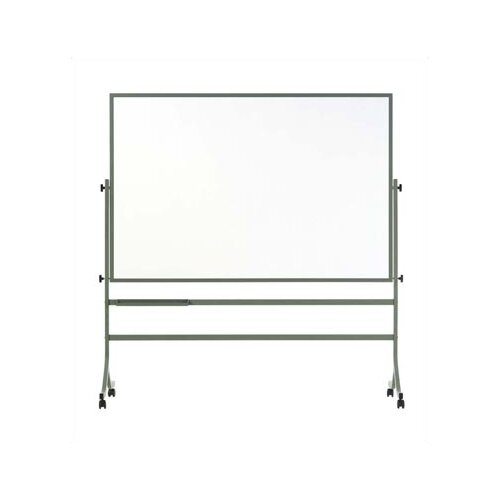 Marsh Remarkaboard Freestanding Reversible 4' x 6' Whiteboard
