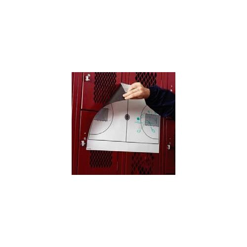 Marsh Magnetic Dry-Erase Coaching Aides Mat - Volleyball