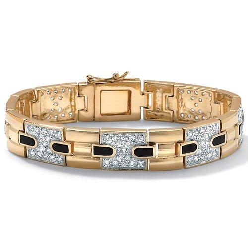 Men's Onyx / Cubic Zirconia Bracelet