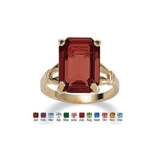 Palm Beach Jewelry Birthstone Simulated Ring