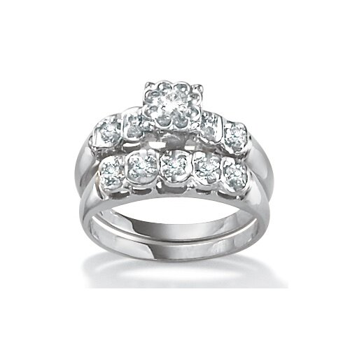 Palm Beach Jewelry Diamond Wedding Ring Set