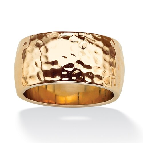 Palm Beach Jewelry Hammered-Style Band