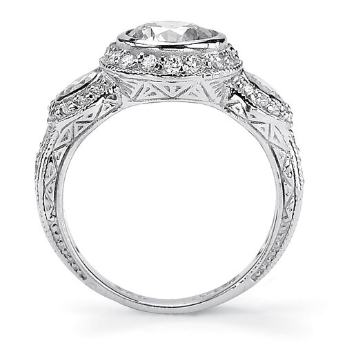 Palm Beach Jewelry Cubic Zirconia Anniversary Ring