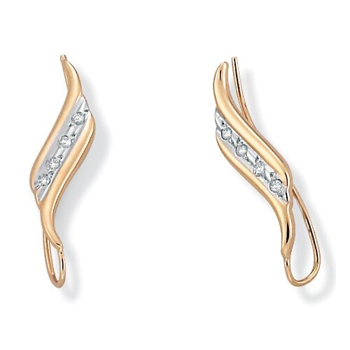 Palm Beach Jewelry Diamond Acc. Ear Pins