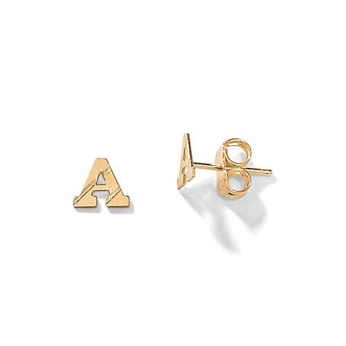 Palm Beach Jewelry Initial Earrings