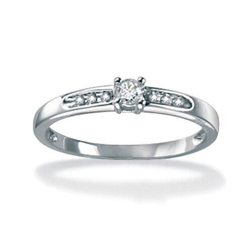 Palm Beach Jewelry 10k Gold Full Diamond Ring