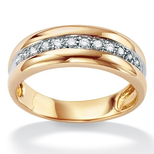 palm beach jewelry men39s 10k gold round diamond wedding With palm beach wedding rings